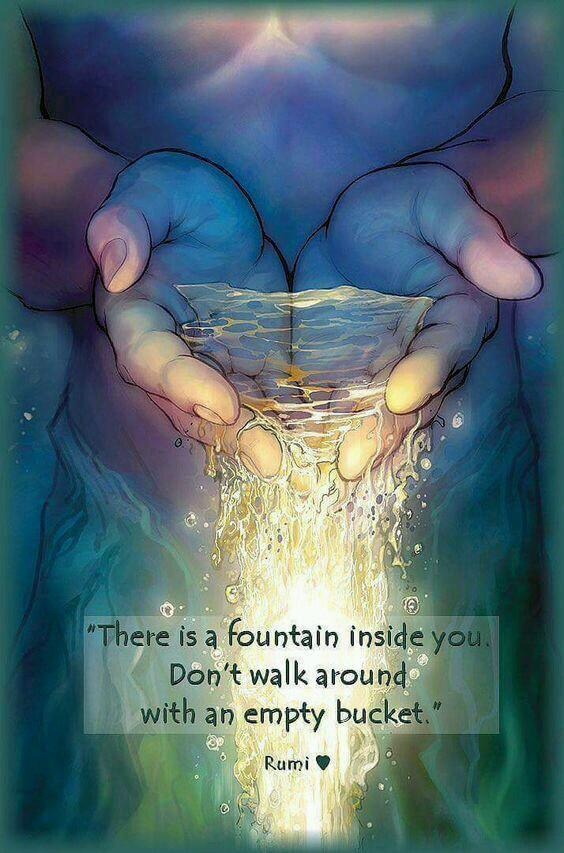 Discovering the fountain within you