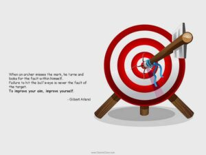 Lessons from an archer